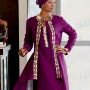 African Pride Odelia Jacket Dress